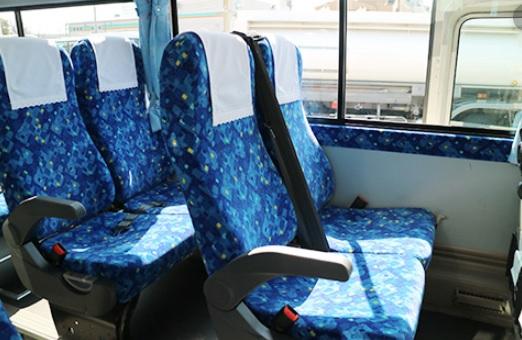 バス移動交流